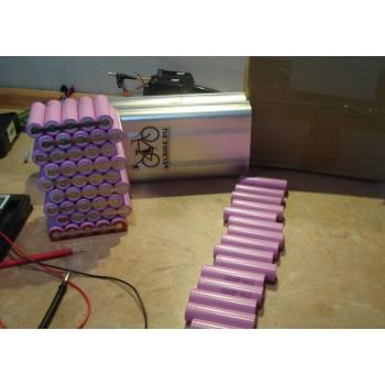 Ремонт и переборка аккумуляторов популярных электровелосипедов